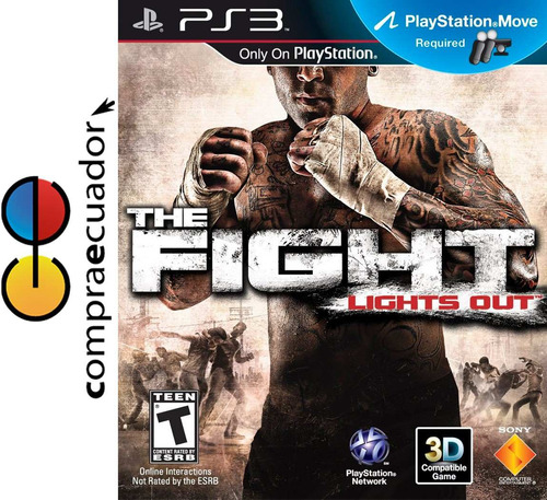 the fight lights out ps3 playstation 3 juego fisico original