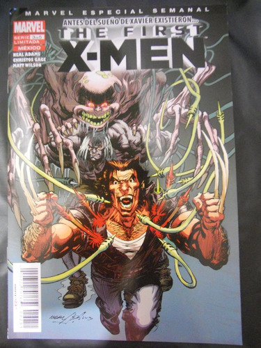 the first x-men # 3 mexico comic