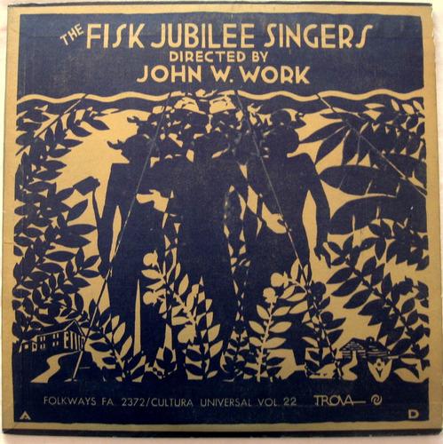 the fisk jubilee singers - vinilo lp usa