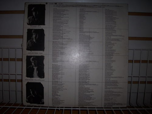 the fixx - reach the beach lp vinil nacional en mb estado