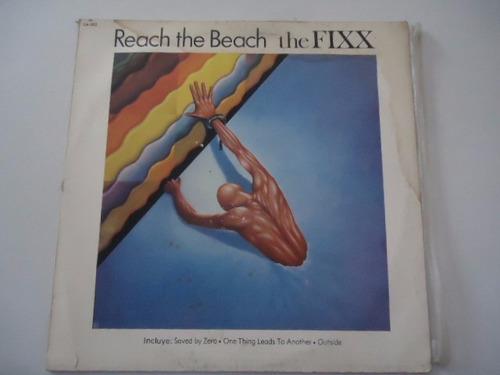 the fixx / reach the beach vinyl lp acetato g