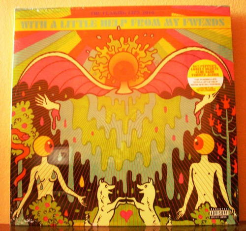 the flaming lips with a little help from my fwends(vinilo