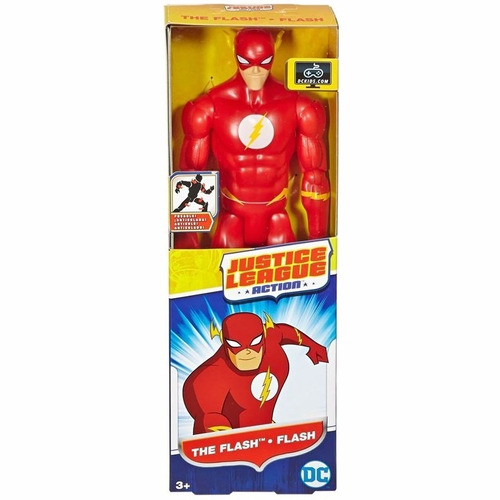 the flash liga de la justicia muñeco 30cm dc fair play toys