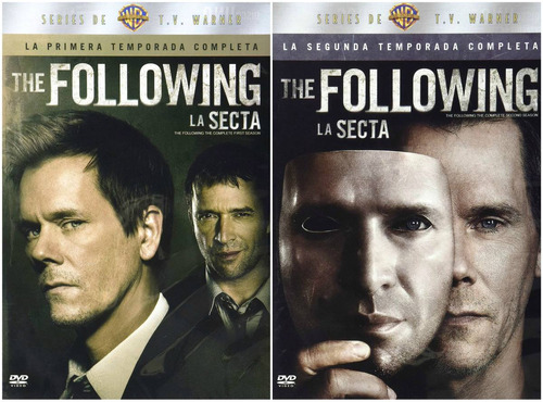 the following paquete temporadas 1 y 2 serie dvd