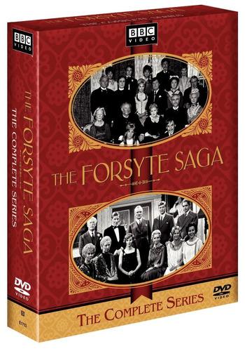 the forsyte saga coleccion completa serie tv dvd