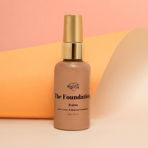 the foundation base crema natural para piel normal/ seca