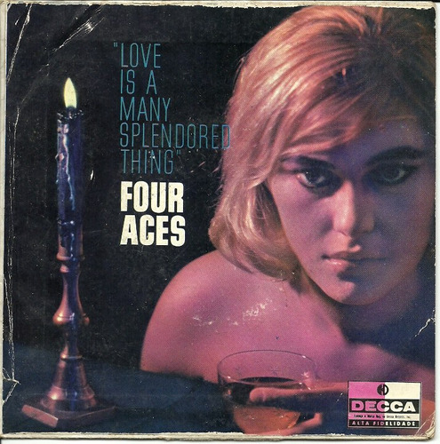 the four aces - compacto - love is a many splendore thing