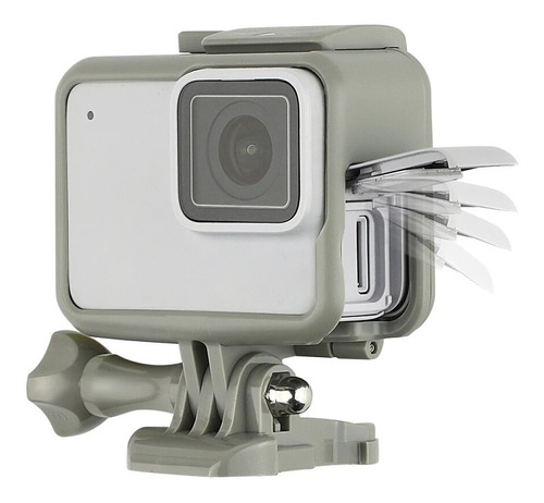the frame  gris special edition para gopro hero 5-6-7