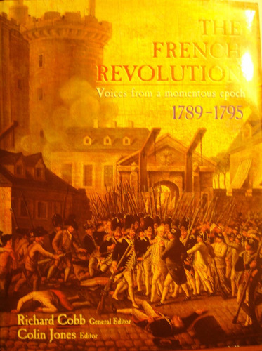 the french revolution, 1789-1795, de richard cobb y colin j
