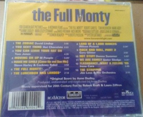 the full monty - music from the morion piecture soundtrac