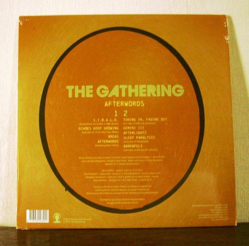 the gathering afterwords(vinilo nuevo sellado)