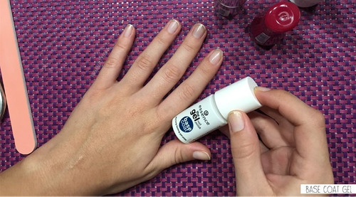 the gel esmalte base y top coat essence