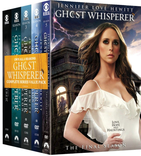 the ghost whisperer  the complete series importada en dvd