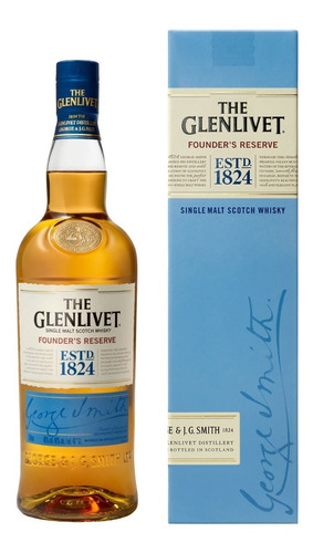 the glenlivet founder's reserve whisky escocés 750ml