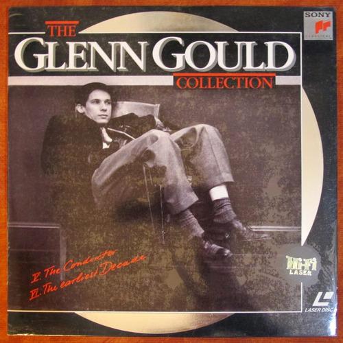 the glenn gould collection - laserdisc importado lacrado