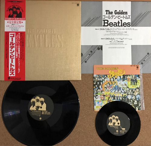 the golden beatles vinilo japones obi musicovinyl