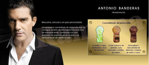 the golden secret antonio banderas edt 100ml para hombre