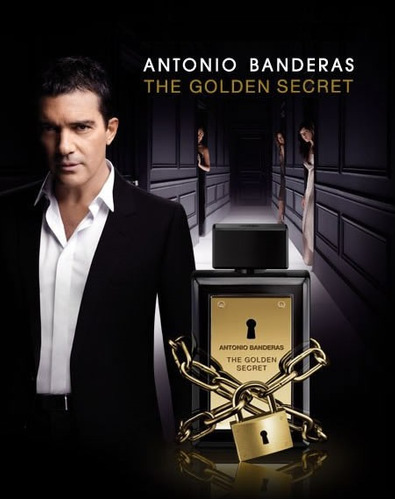 the golden secret antonio banderas estuche edt 100ml + desod