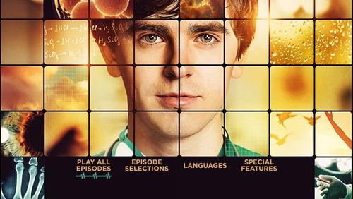 the good doctor en dvd con menu original