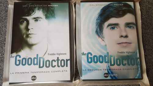 the good doctor - temporadas 1 y 2 completas - 10 dvds