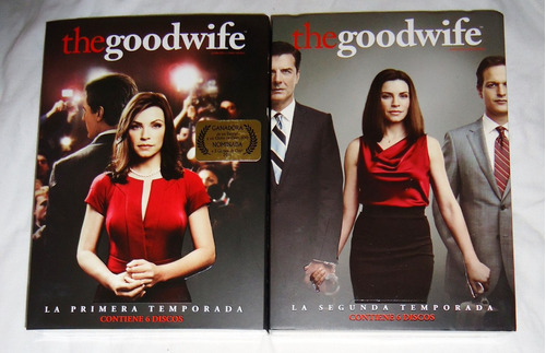 the goodwife la buena esposa paquete temporadas 1 , 2 dvd