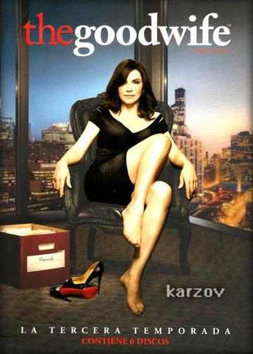 the goodwife la buena esposa tercera temporada 3 tres dvd