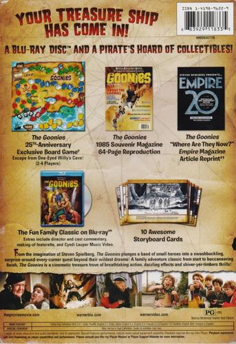 the goonies 25 aniversario collectors edition blu-ray