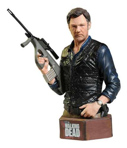 the governor mini bust  - the walking dead - gentle giant