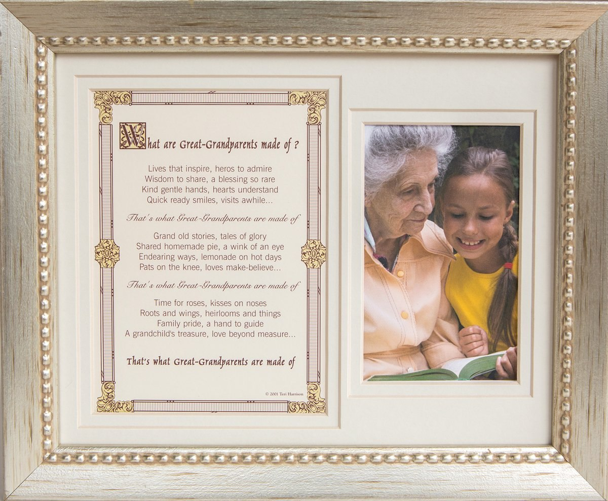 The Grandparent Gift Co, Marco De Foto De Bisabuelos 8x10 ...