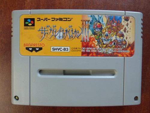 the great battle 3 super famicom zonagamz japon