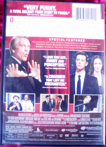 the great buck howard. dvd.