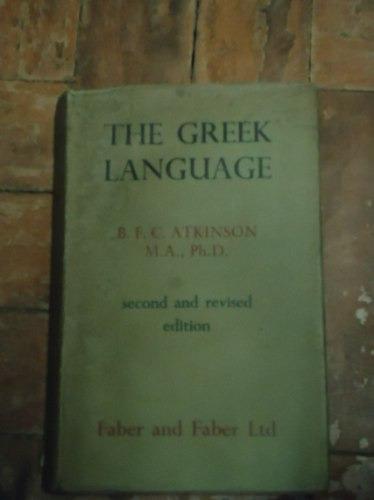 the greek language  de  b. f. c. atkinson