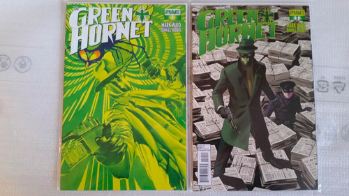 the green hornet # 1 dynamite portada reg + alex ross