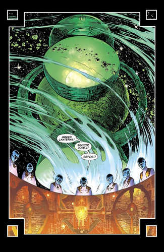 the green lantern #1 (2018) hal jordan dc comics