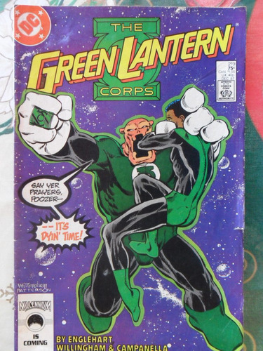 the green lantern corps nº 219 original americana  r$ 20,00!