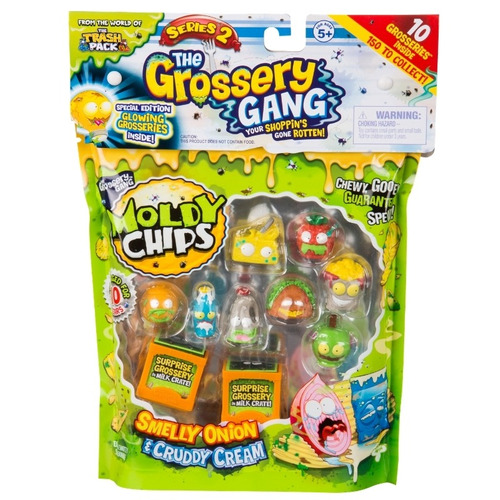 the grossery gang pack x 10