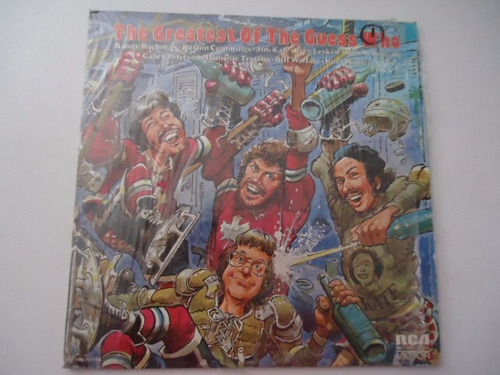 the guess who / the greatest of vinyl lp acetato