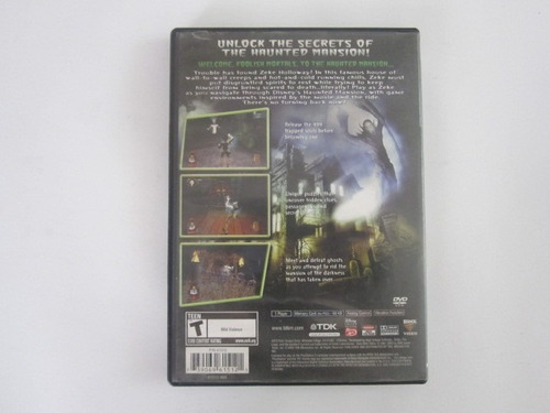 the haunted mansion ps2 play station 2 en game reaktor
