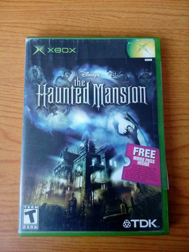 the haunted mansion xbox