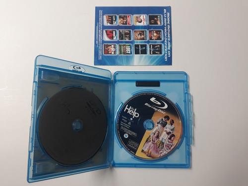 the help (blu-ray/dvd, 2011, 2-disc set) / pelicula blu-ray