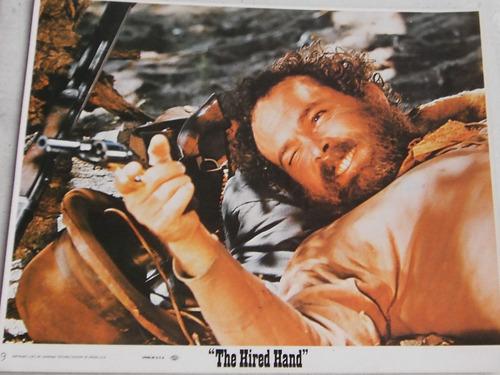 the hired hand peter fonda  lobby card foto cine original