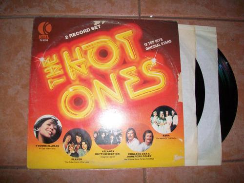 the hot ones, musica disco album doble lp´s buen estado