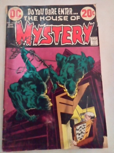 the house of mistery vintage