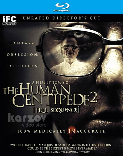 the human centipede 2 full sequence director's cut blu-ray