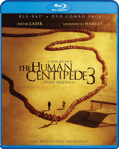 the human centipede 3 final secuence blu-ray + dvd