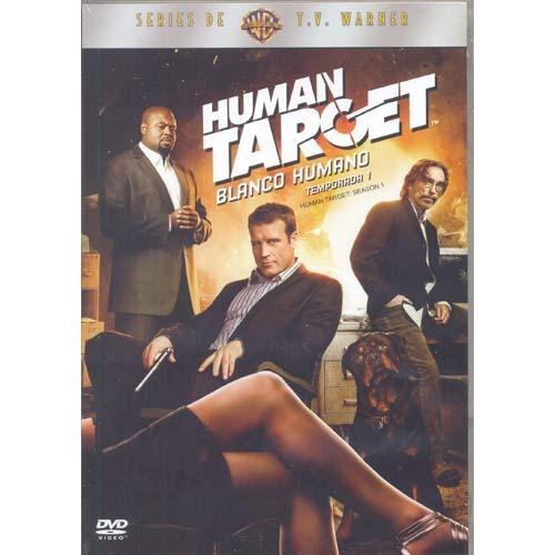 the human target blanco humano temporada 1 uno en dvd
