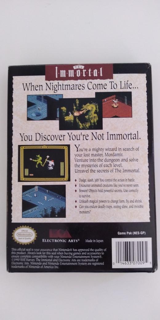 the immortal nes