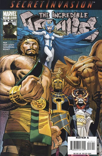 the incredible hercules #117 - pak - van lente - sandobal -