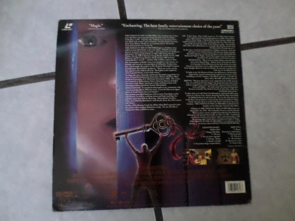The Indian In The Cupboard En Formato Laser Disc 1995 - $ 229.00 en ...