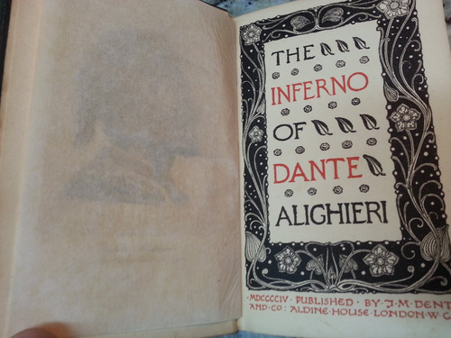 the inferno and purgatorio of dante alighieri  raros antigos